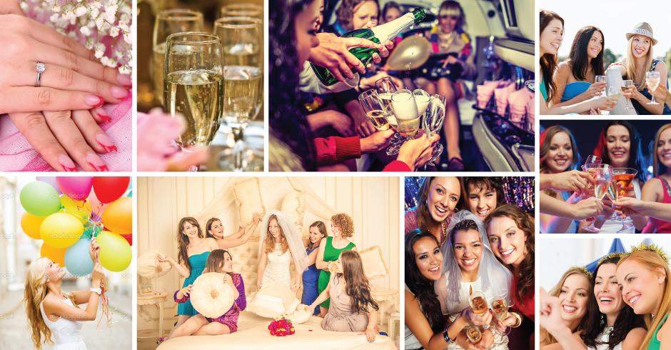 מסיבות רווקות, ימי הולדת וערבי נשים